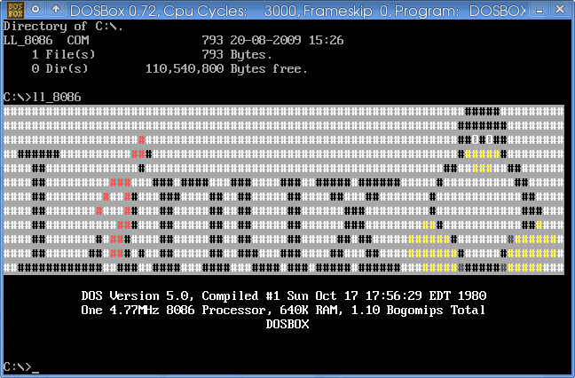 ll: Linux_Logo in assembly language